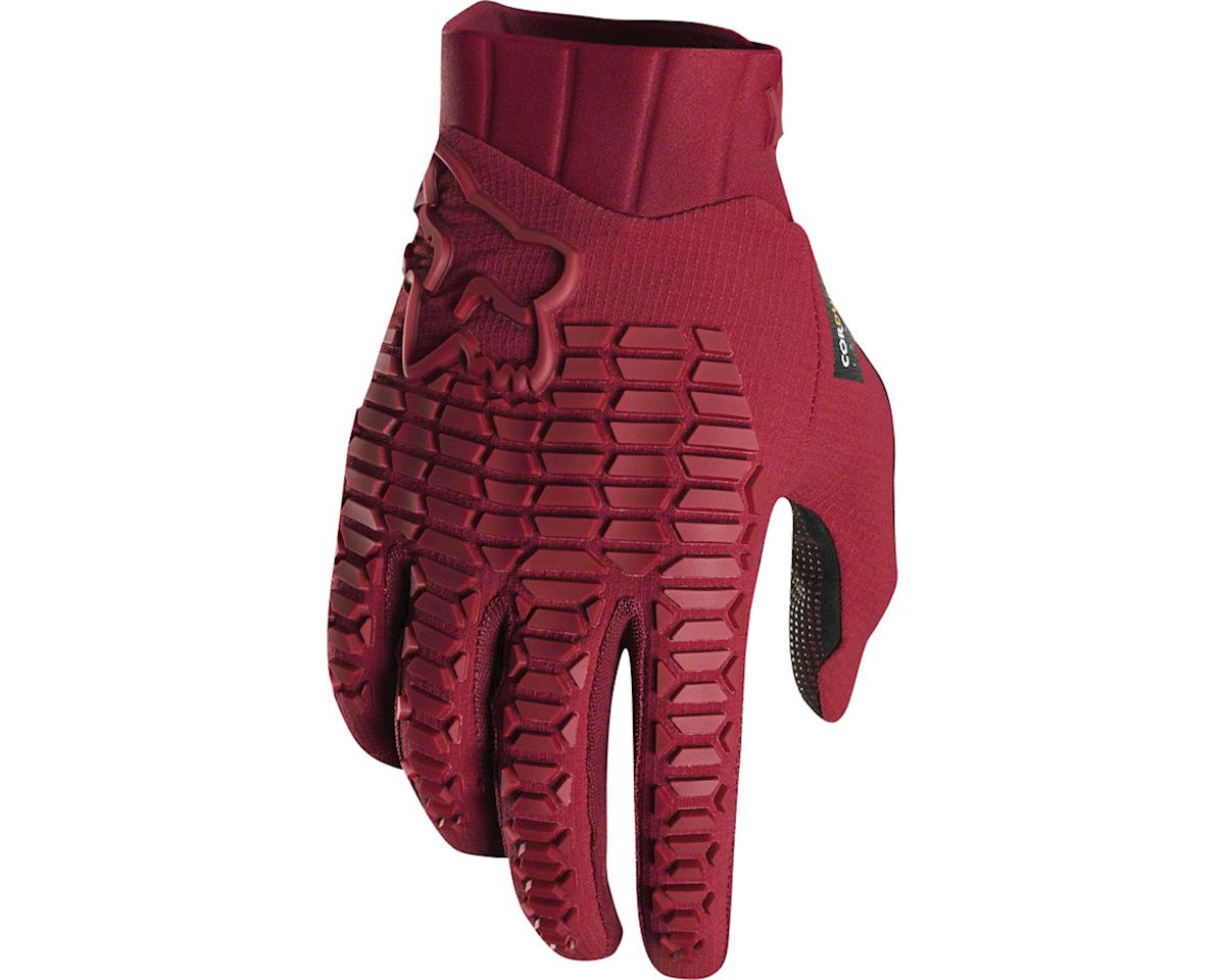 Fox Racing Sidewinder Men's Full Finger Glove (Cardinal Red) (S)