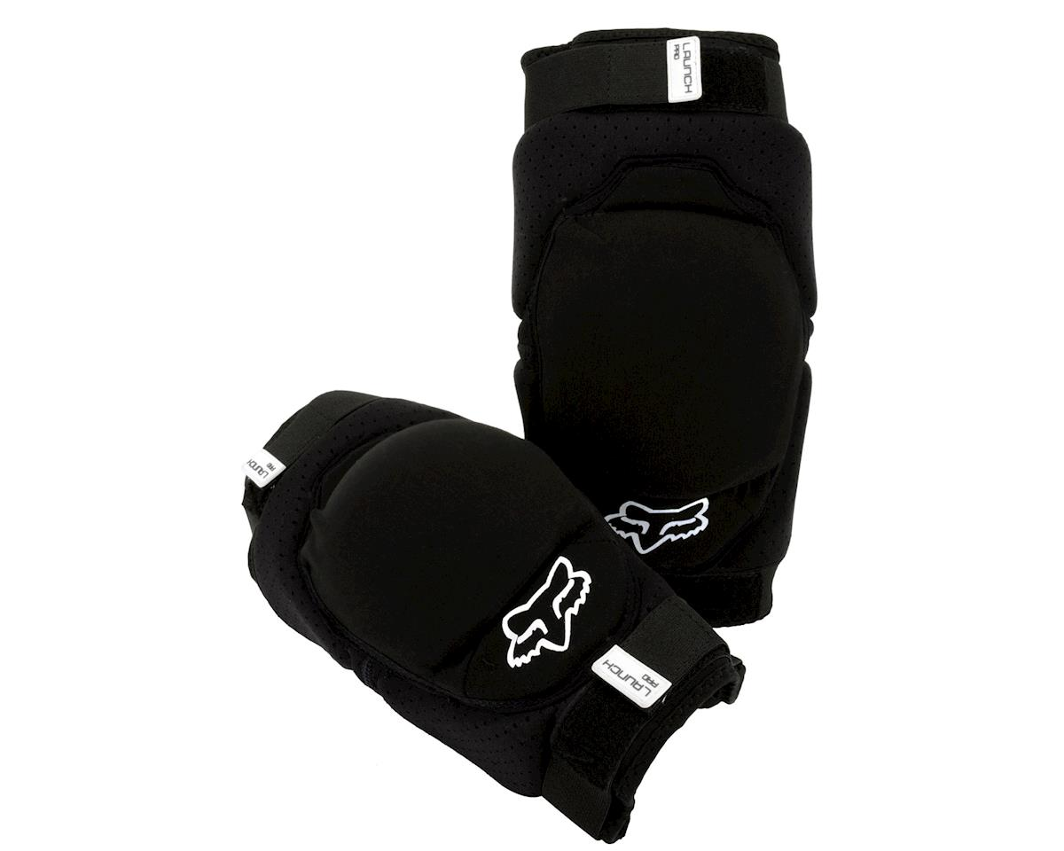 Fox Racing Racing Launch Pro Protective Knee Pad (Black) (Pair)