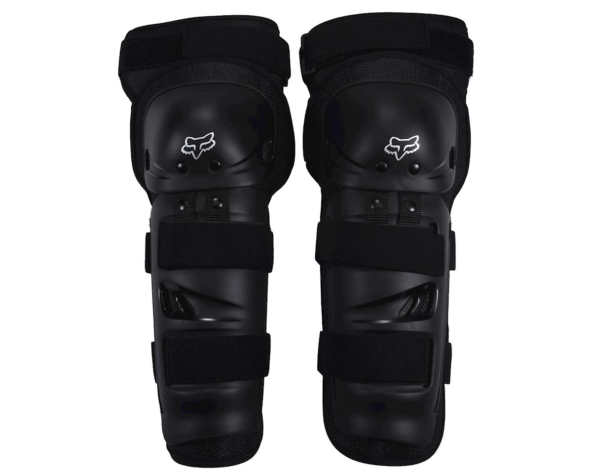 Racing Launch Sport Protective Knee and Shin Guard (Black) (Pair) (One Size)