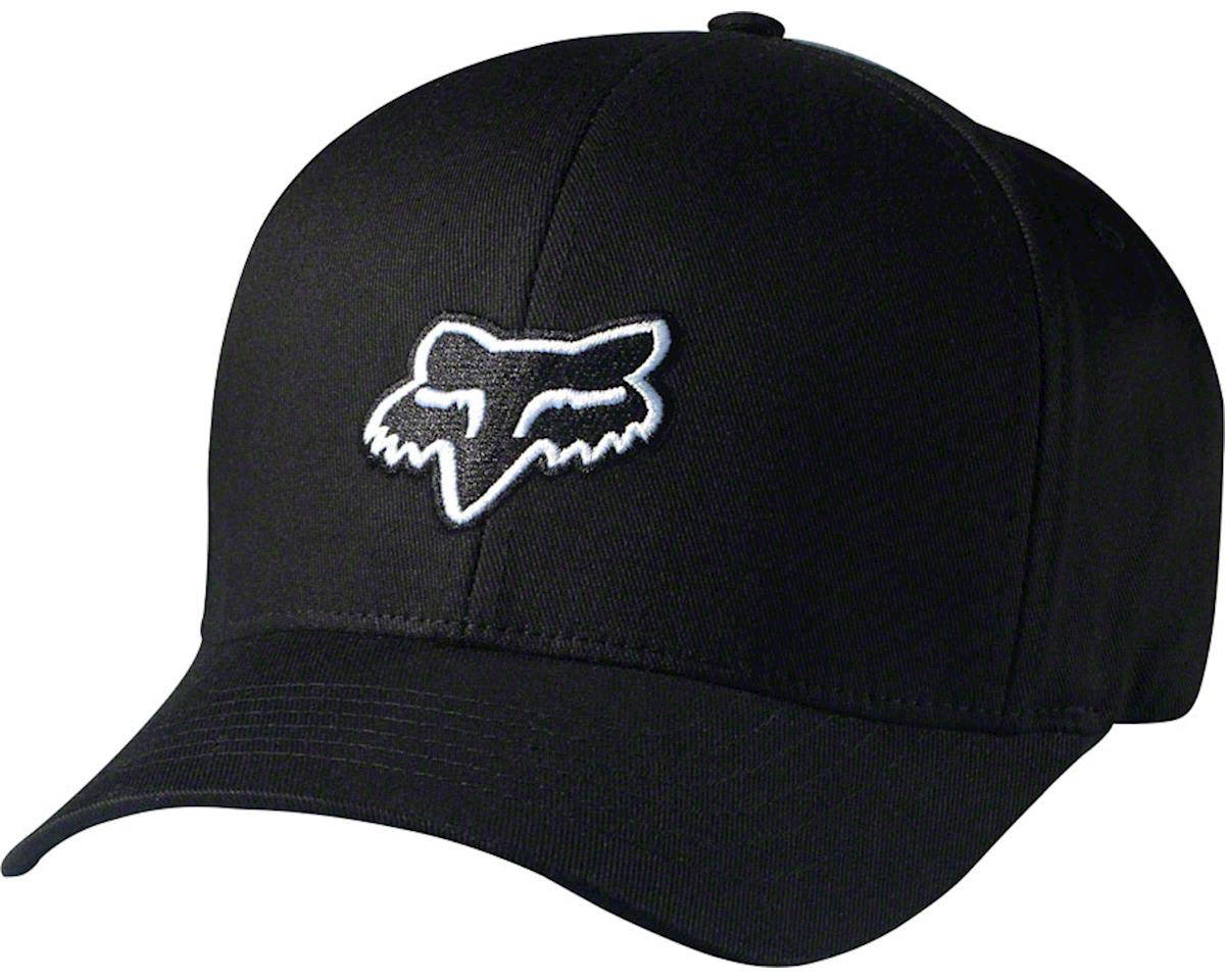 edb38b502ed Fox Racing Legacy Flexfit Hat (Black) (S M)  58225-001-037 ...