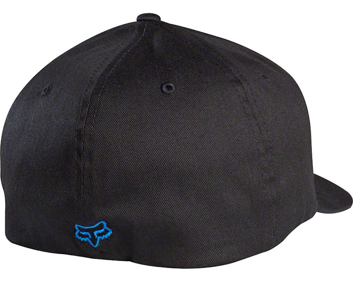 Fox Racing Flex 45 Flexfit Hat (Black/Blue) (S/M)