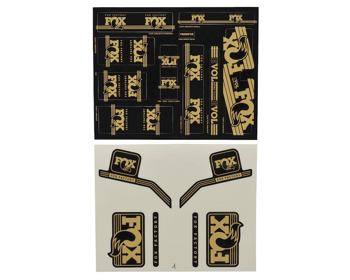 Fox Suspension Heritage Decal Kit for Forks and Shocks (Gold)