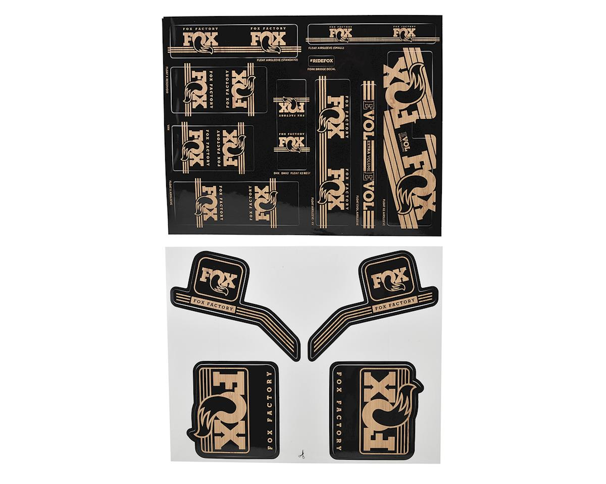 Fox Suspension Heritage Decal Kit for Forks and Shocks (Wood)
