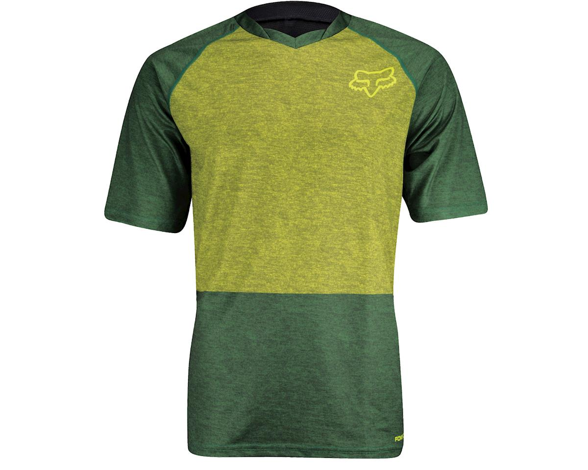 Fox Indicator Short Sleeve Jersey (Green) (Xlarge)