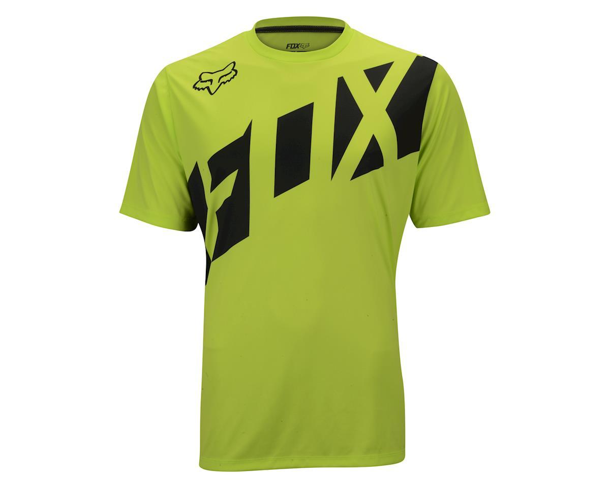 Image 2 for Fox Racing Ranger Short Sleeve Jersey (Red/Black) (Xxlarge)