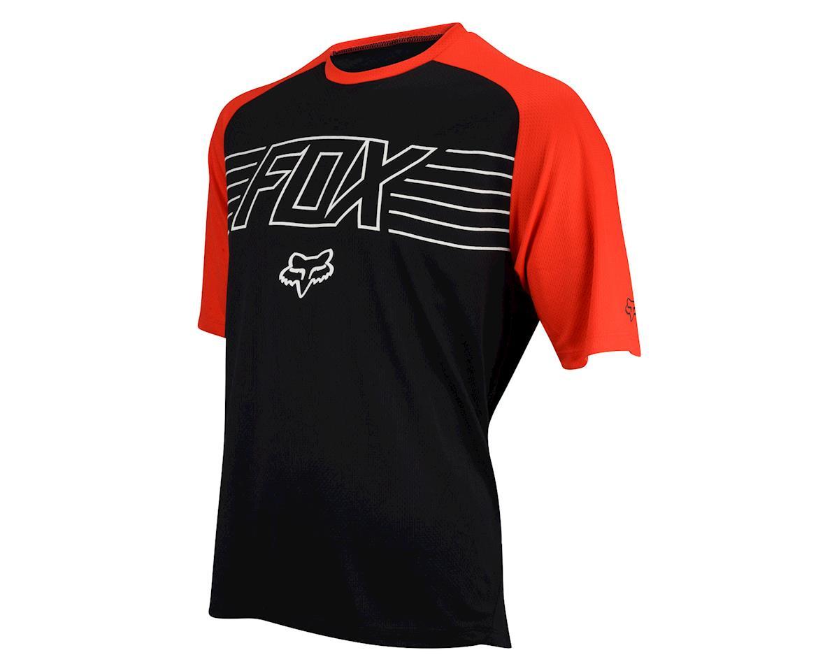 Fox Ranger Print Short Sleeve Jersey (Black/Red) (Xlarge)