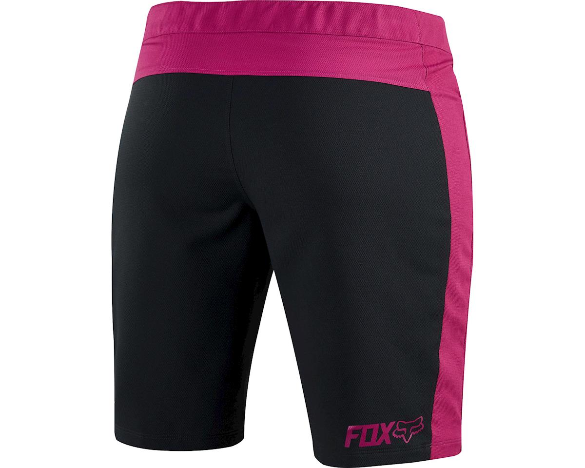 Fox Women's Ripley Shorts (Black/Pink) (Xlarge)