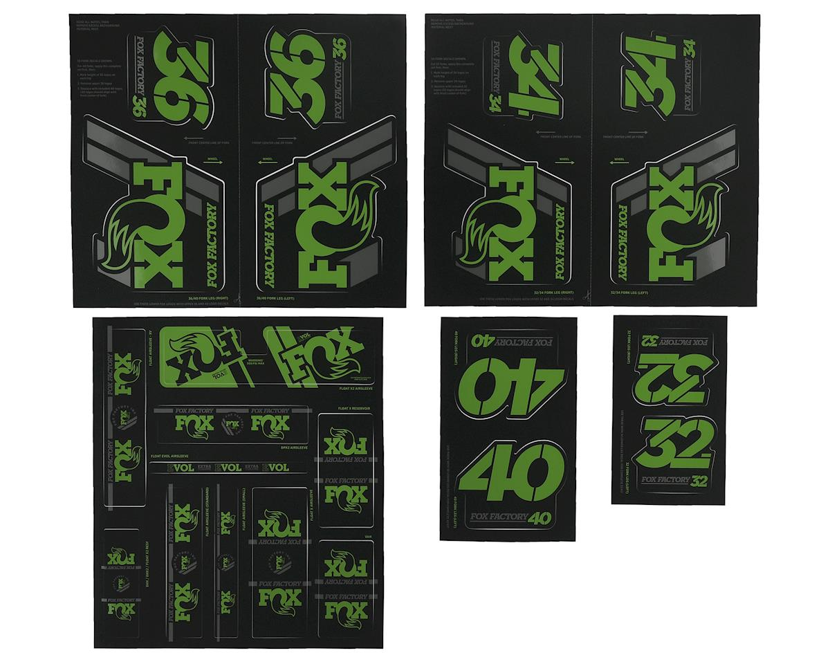 Fox Suspension Heritage Decal Kit for Forks and Shocks (Green)