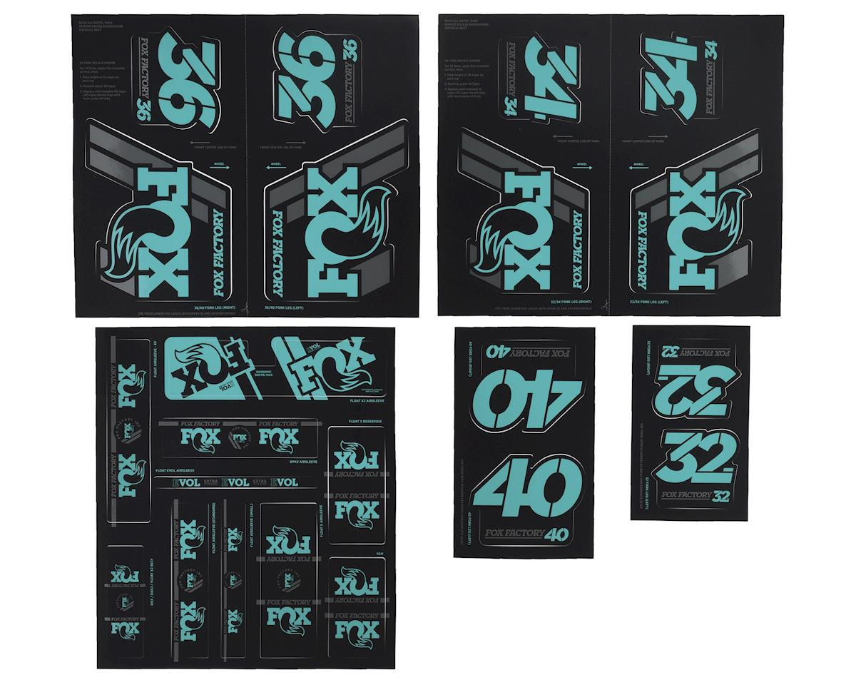 Fox Suspension Heritage Decal Kit for Forks and Shocks (Mint)