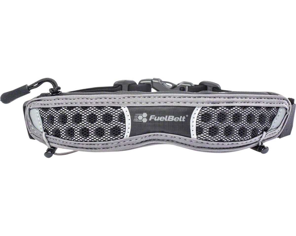 Fuelbelt Helium Race Belt: Black/Gray