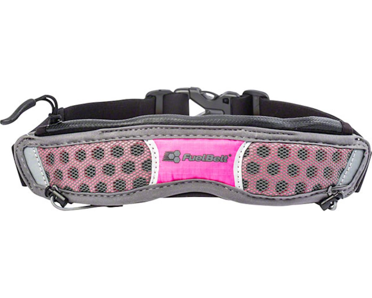 Fuelbelt Helium Stretch Belt: Pink PowWow