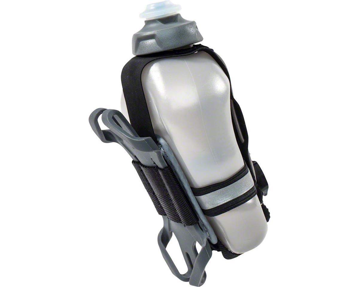 Fuelbelt Helium Tech Fuel Hand-held Hydration/Phone Holster (Black/Magnet Gray)