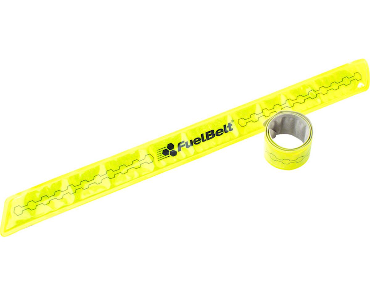 FuelBelt Neon Reflective Snap Bands: Yellow, Pair
