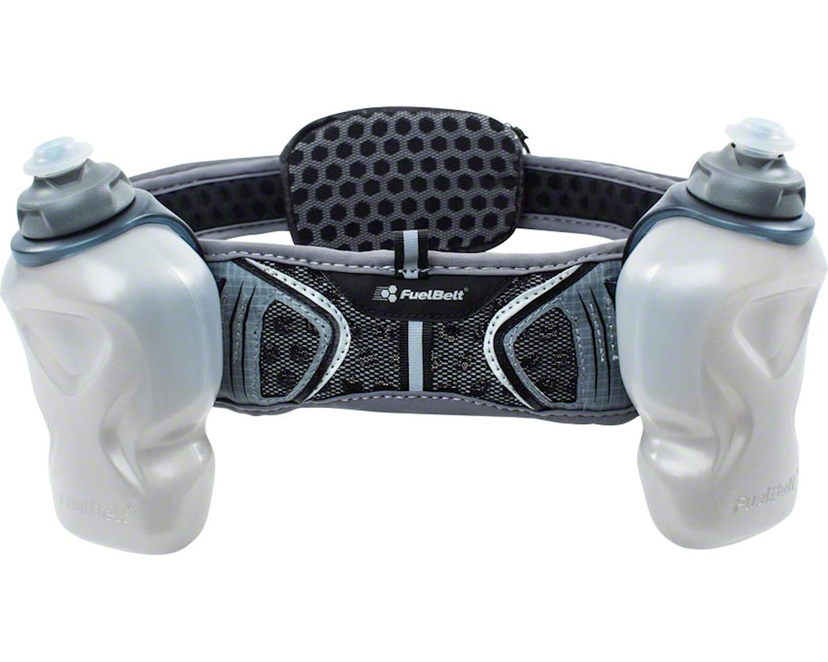 Fuelbelt Helium Ultra Light Belt: Black/Gray