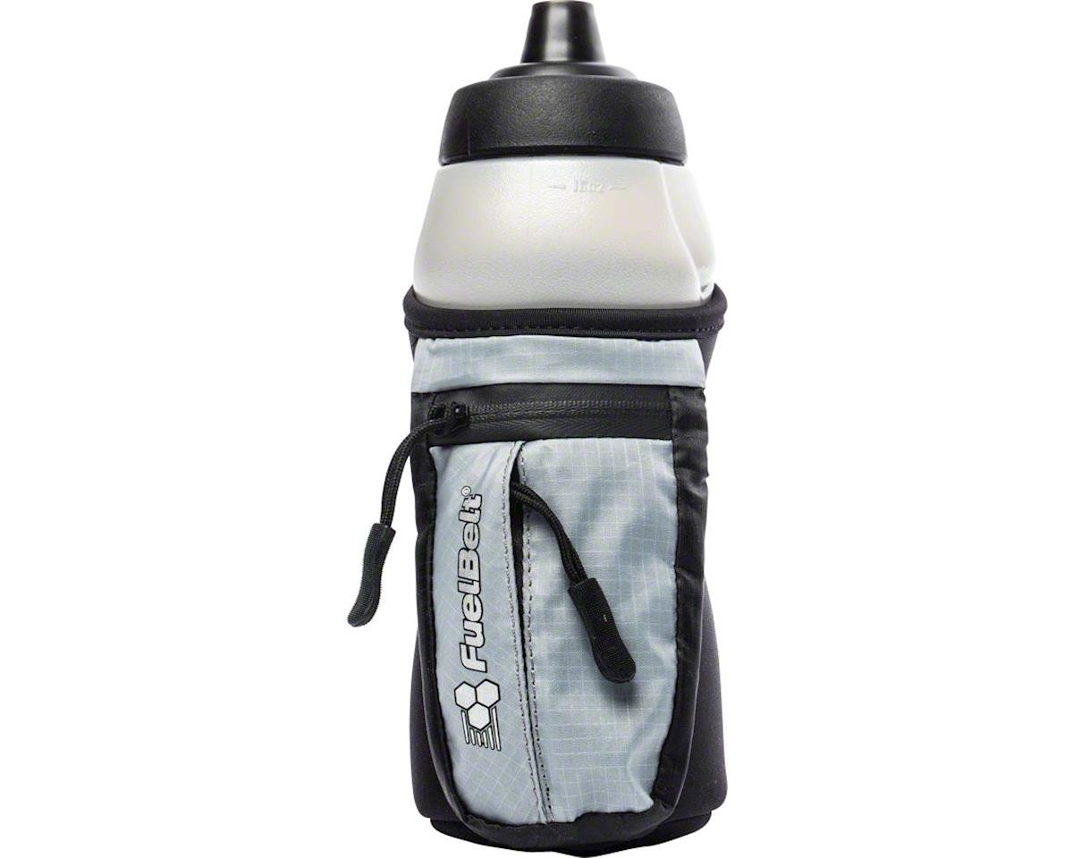 Fuelbelt Helium Enduro Fuel Hand-hel Hydration (Black/Gray) (16oz)