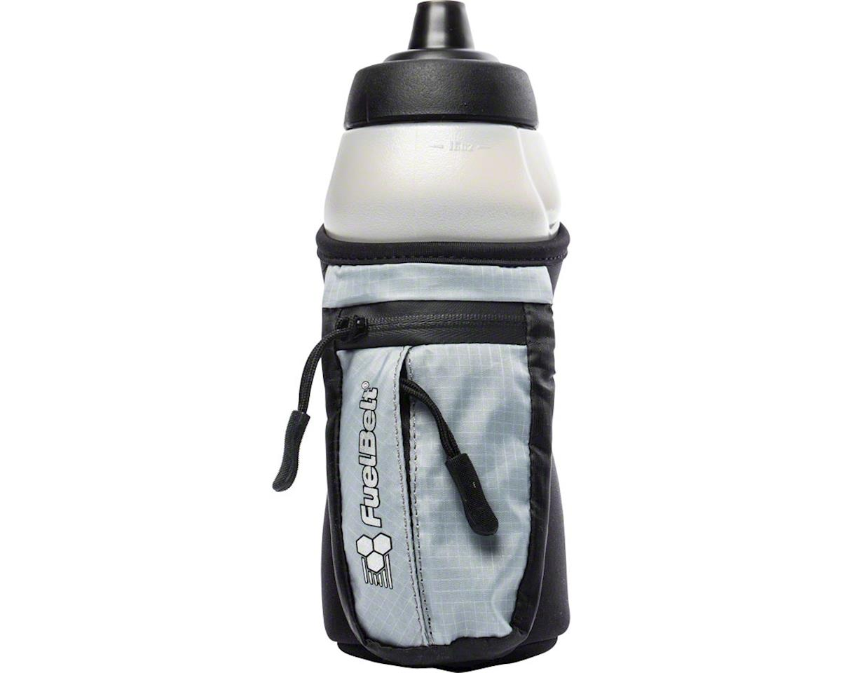 Fuelbelt Helium Enduro Fuel Hand-hel Hydration: Black/Gray, 16oz