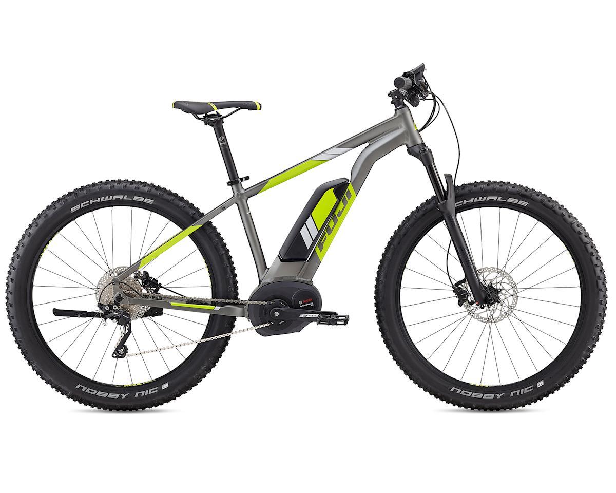 Fuji Bikes Ambient 1.3 27.5+ E-Mountain Bike (Satin Charcoal/Citrus)