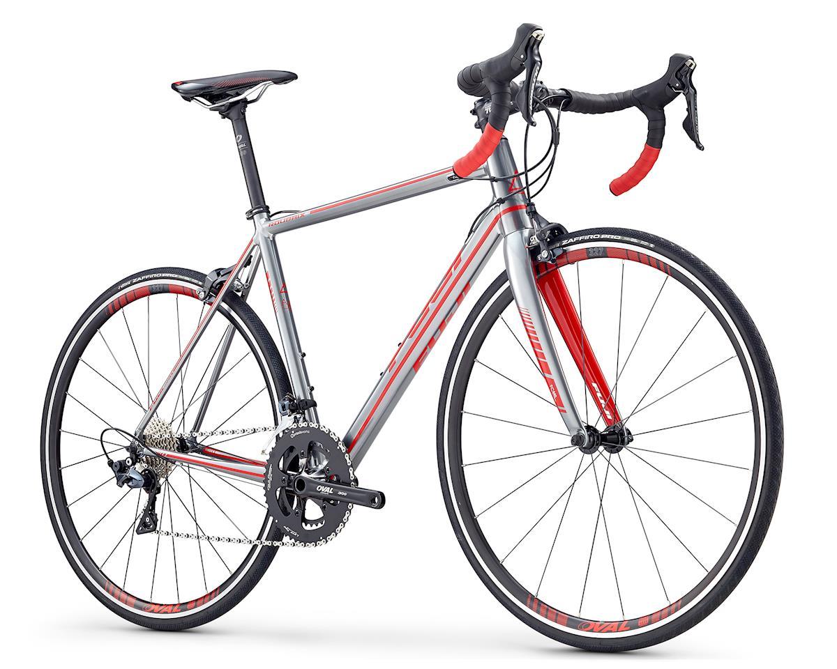 Fuji Bikes 2019 Roubaix 1.3 Road Bike (Polished Silver/Red) (L)