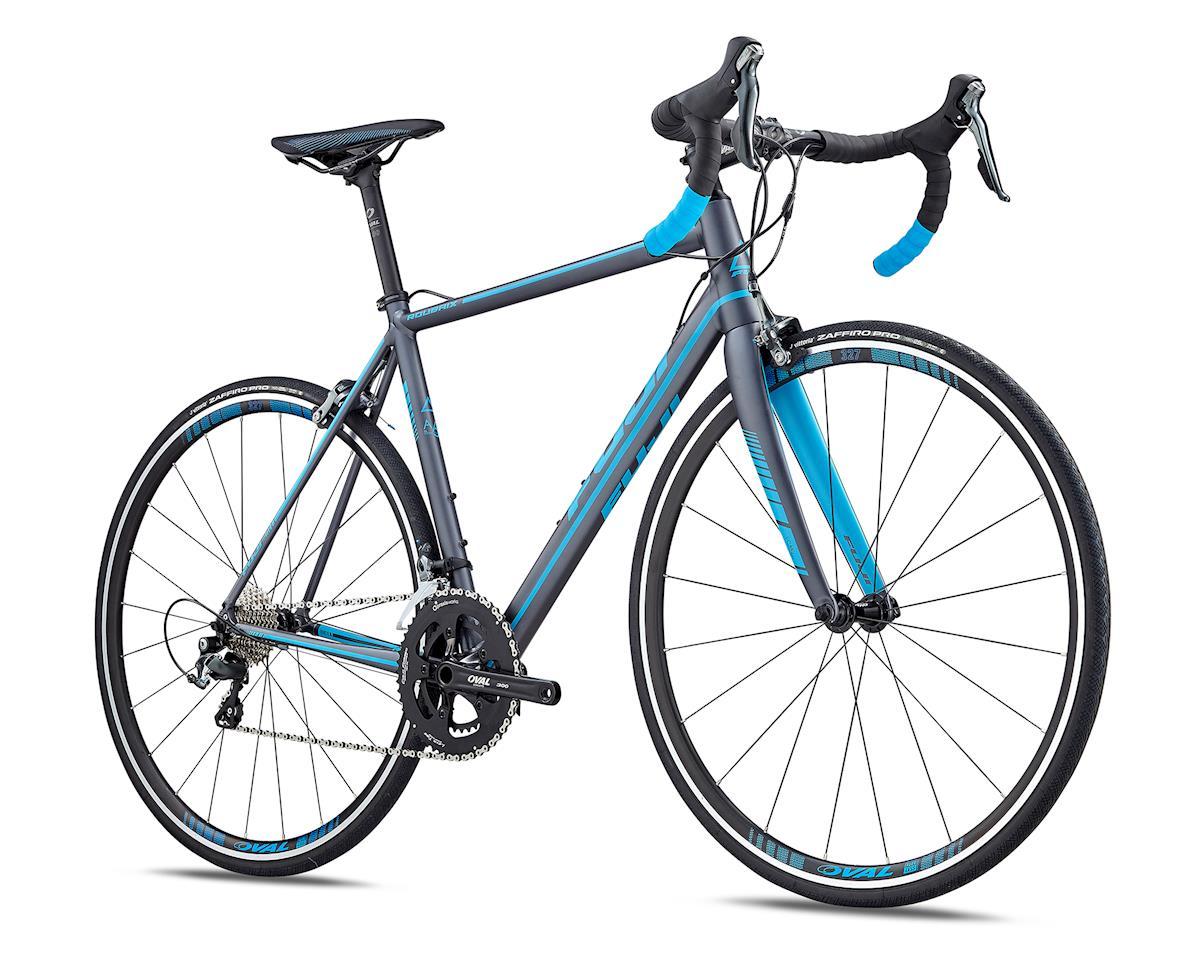 Fuji Bikes 2019 Roubaix 1.5 Road Bike (Satin Anthracite/Cyan) (M)