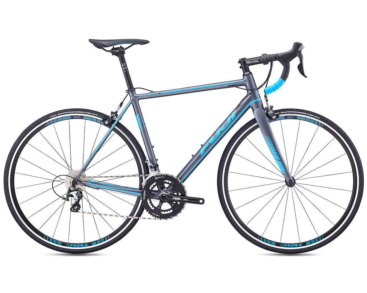 Fuji Bikes 2019 Roubaix 1.5 Road Bike (Satin Anthracite/Cyan) (2XL)