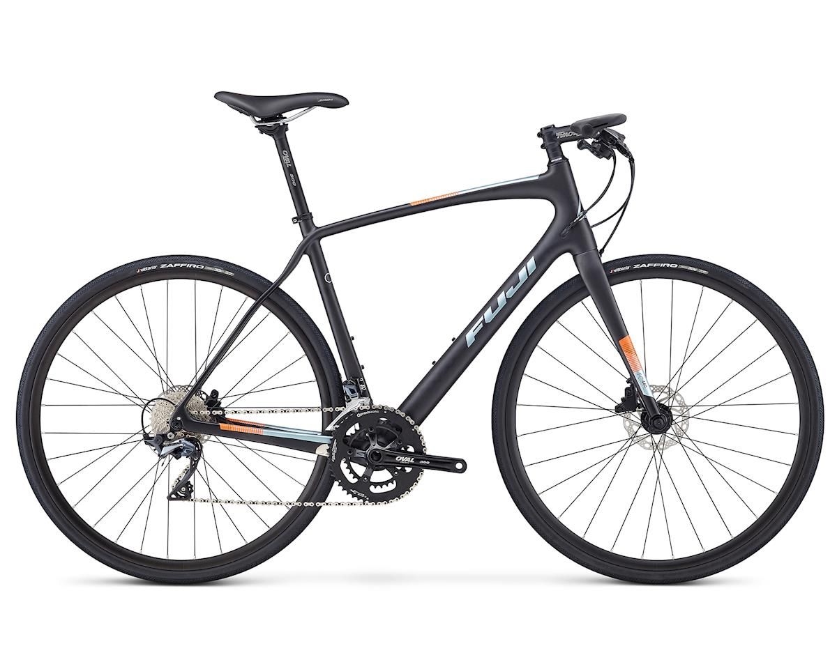 Fuji Bikes 2019 Absolute Carbon Flat Bar Road Bike (Satin Carbon)