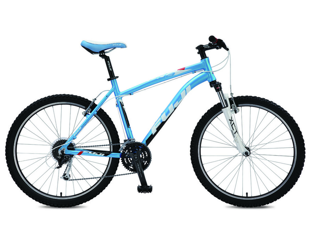 Fuji Bikes Nevada 3.0 ST Hardtail Mountain Bike (2012) (Blue/Red)