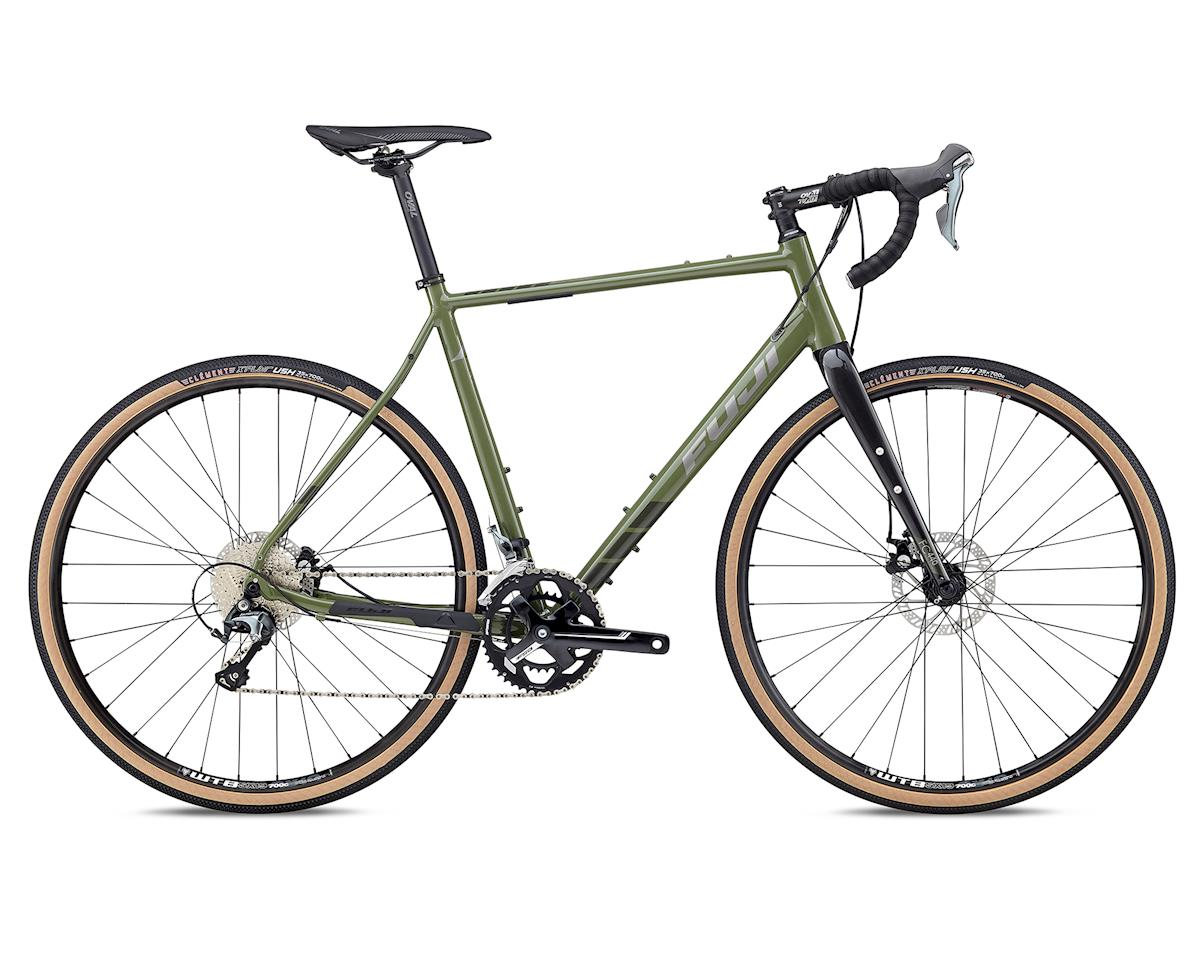 Fuji Bikes 2018 Jari 1.7 Gravel Bike (Olive Green) (54cm)