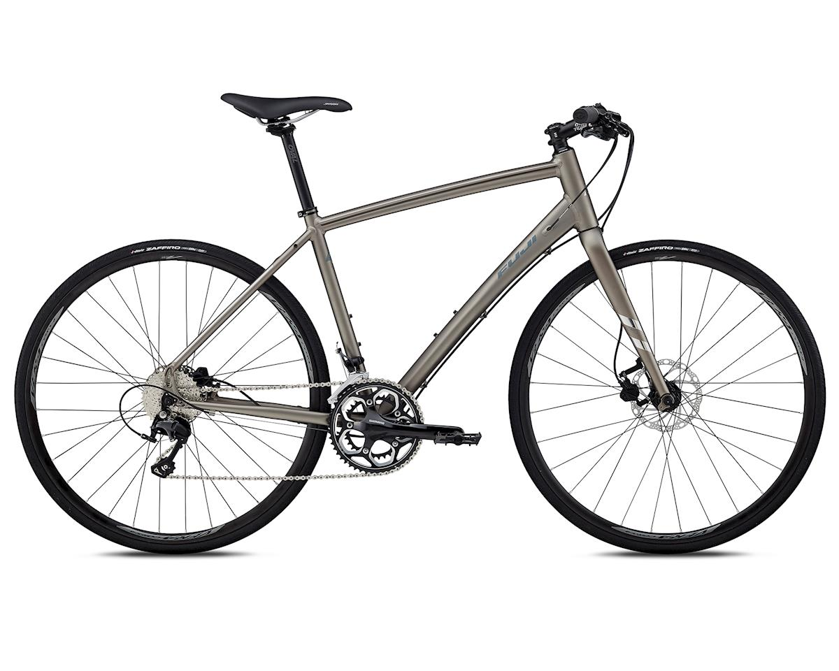 Fuji Bikes 2018 Absolute 1.1 Flat Bar Road Bike (Satin Stone Silver)