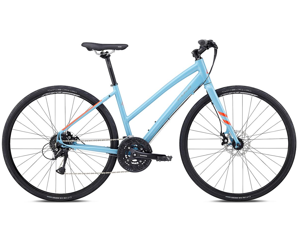 Fuji Bikes 2018 Absolute 1.7 ST Women's Flat Bar Road Bike (Sky Blue) (S)