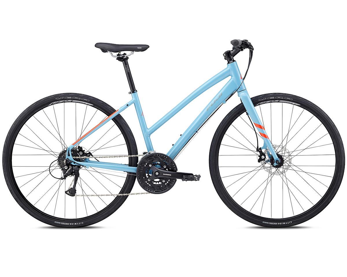 Fuji Bikes 2018 Absolute 1.7 ST Womens Flat Bar Road Bike (Sky Blue) (M)