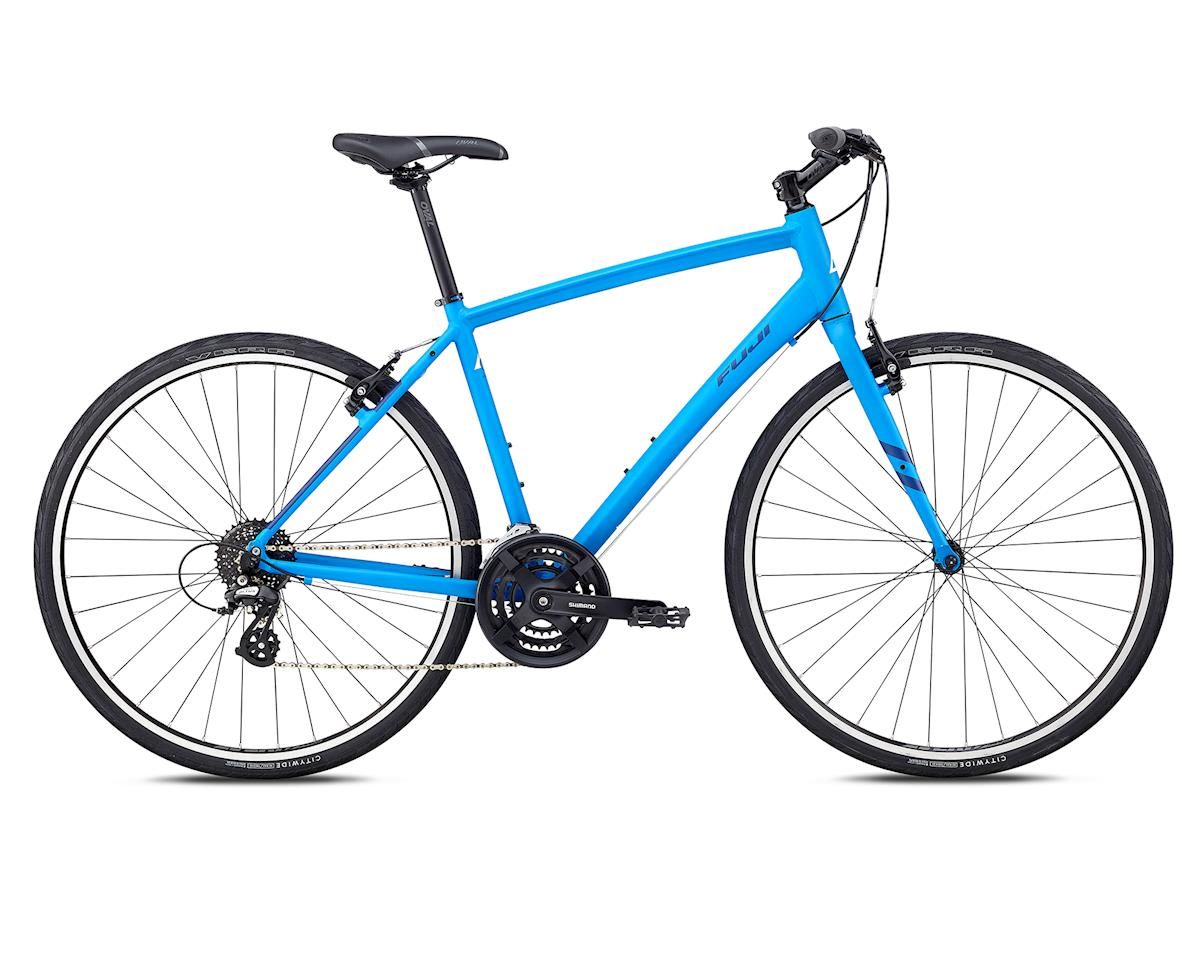 2018 Absolute 2.1 Flat Bar Road Bike (Satin Bright Blue) (XL)