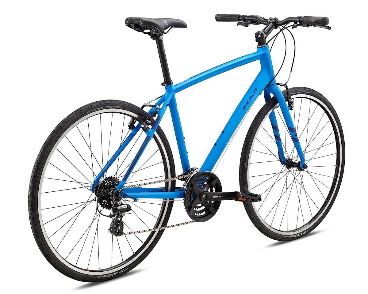 Fuji Bikes 2018 Absolute 2.1 Flat Bar Road Bike (Satin Bright Blue) (XL)