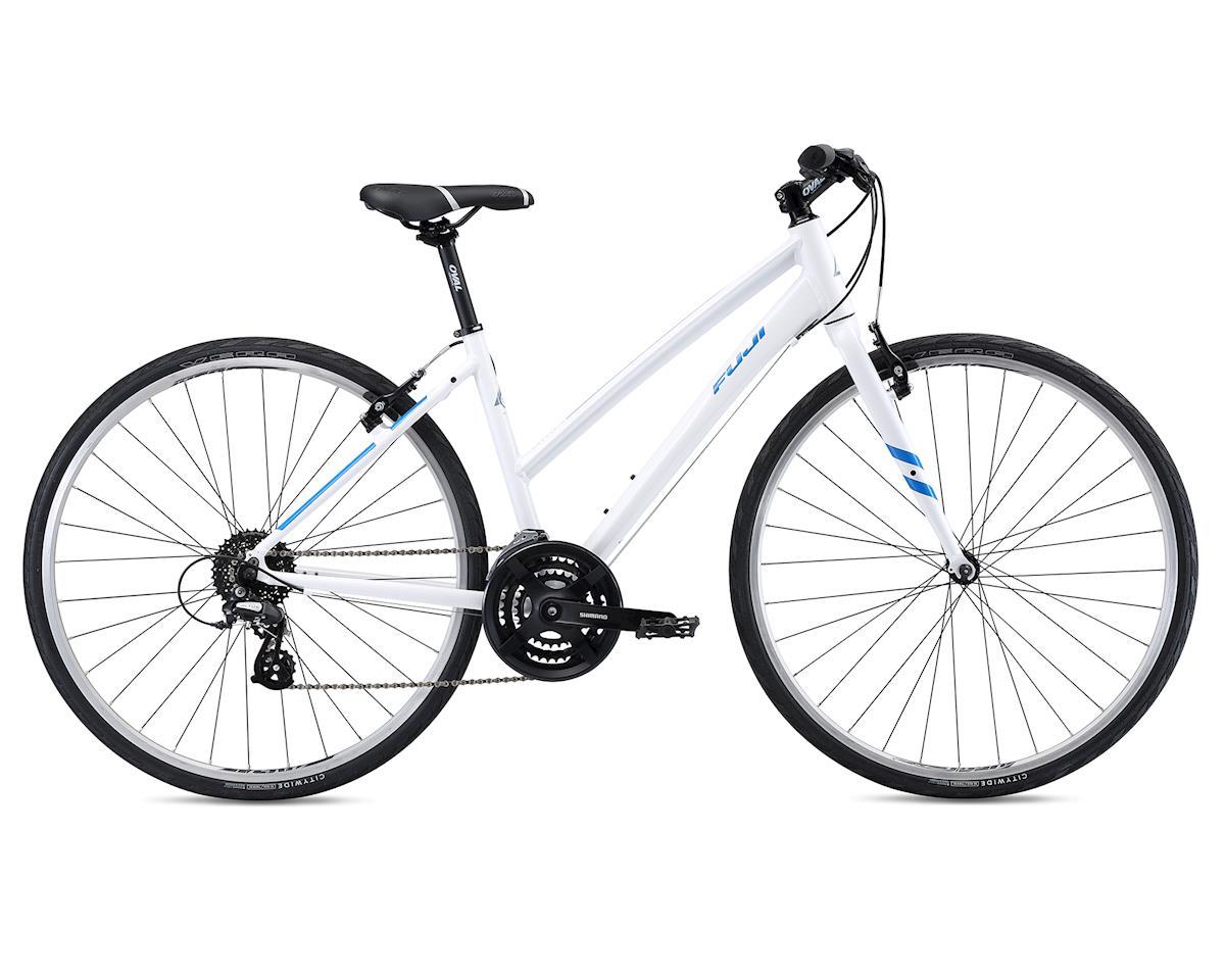 Fuji Bikes 2018 Absolute 2.1 ST Women's Flat Bar Road Bike (White) (S)