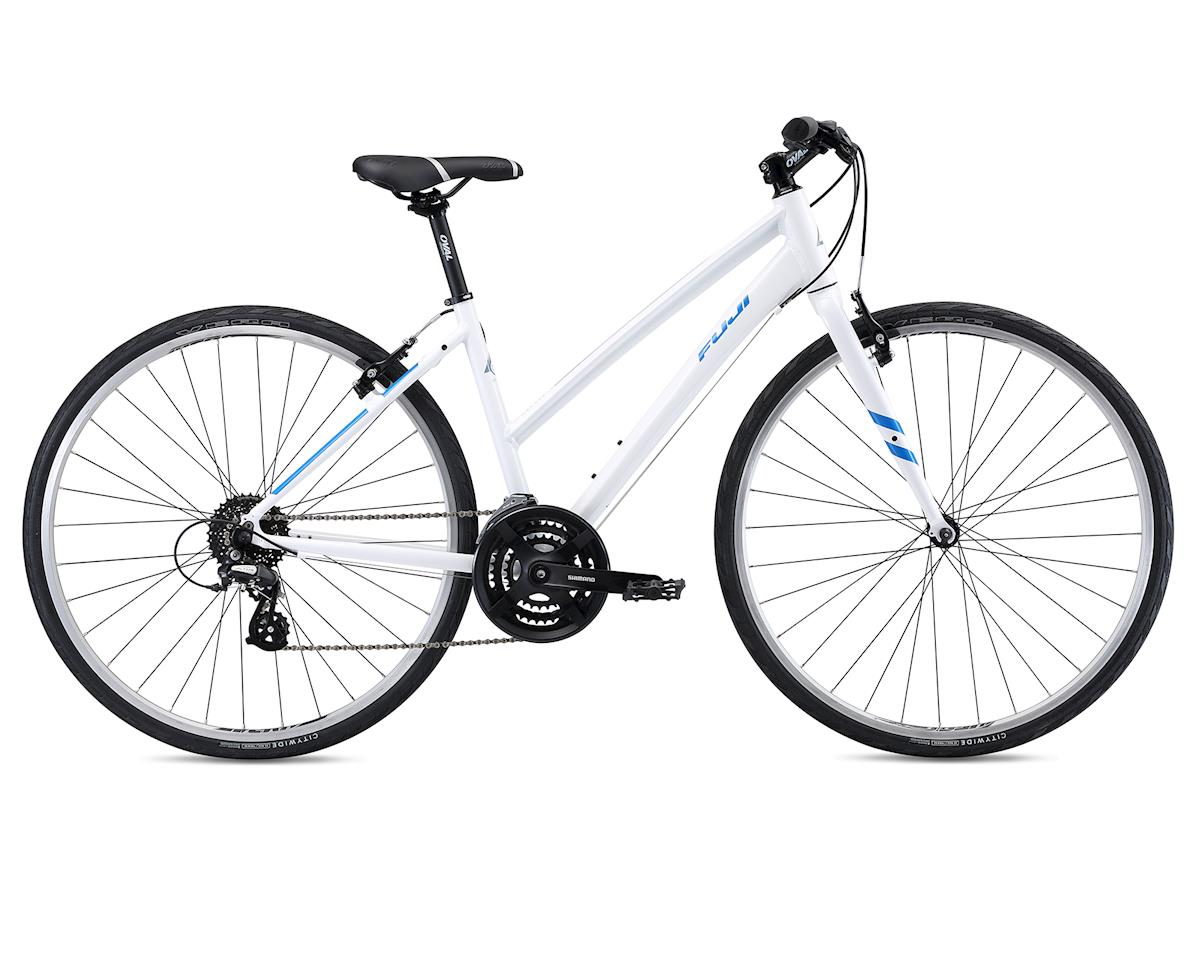 2018 Absolute 2.1 ST Women's Flat Bar Road Bike (White) (L)