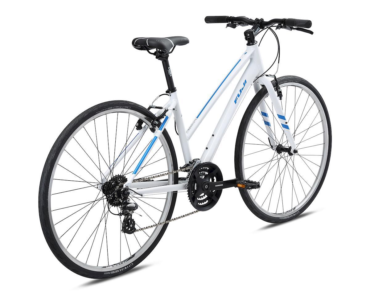 Fuji Bikes 2018 Absolute 2.1 ST Women's Flat Bar Road Bike (White) (L)