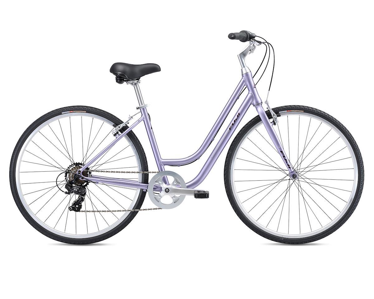 Fuji Bikes 2018 Crosstown 2.3 LS Women's Comfort Bike (Lavender) (L)