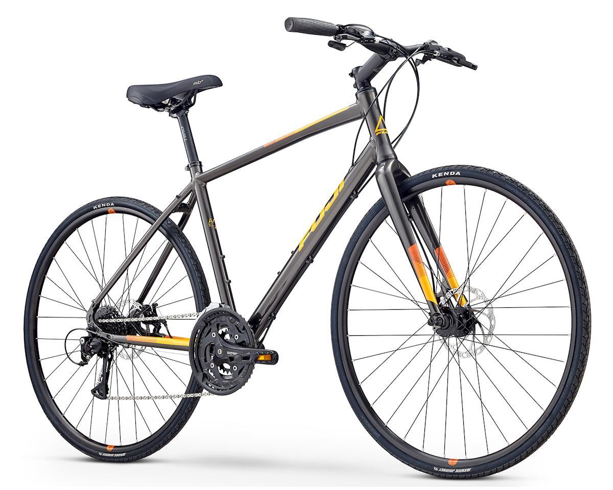 Fuji Bikes 2020 Absolute 1.7 Flat Bar Road Bike (Graphite) (M)