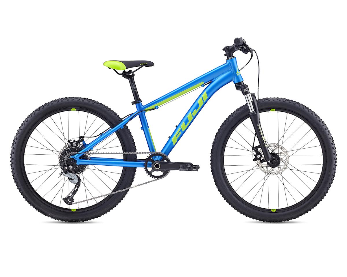 Fuji Bikes 2019 Dynamite 24 Pro Disc Kids Mountain Bike (Satin Royal Blue)