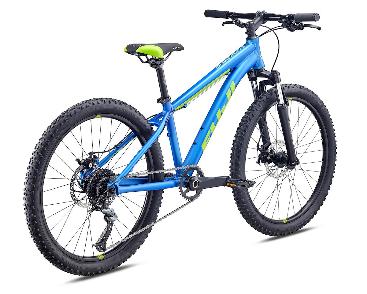 Fuji Bikes 2019 Dynamite 24 Pro Disc Kids Mountain Bike (Satin Royal Blue)