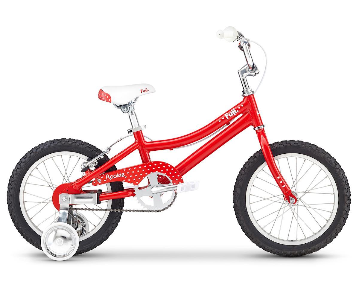 """Fuji Bikes Rookie 16"""" Girl's Bike (Red)"""