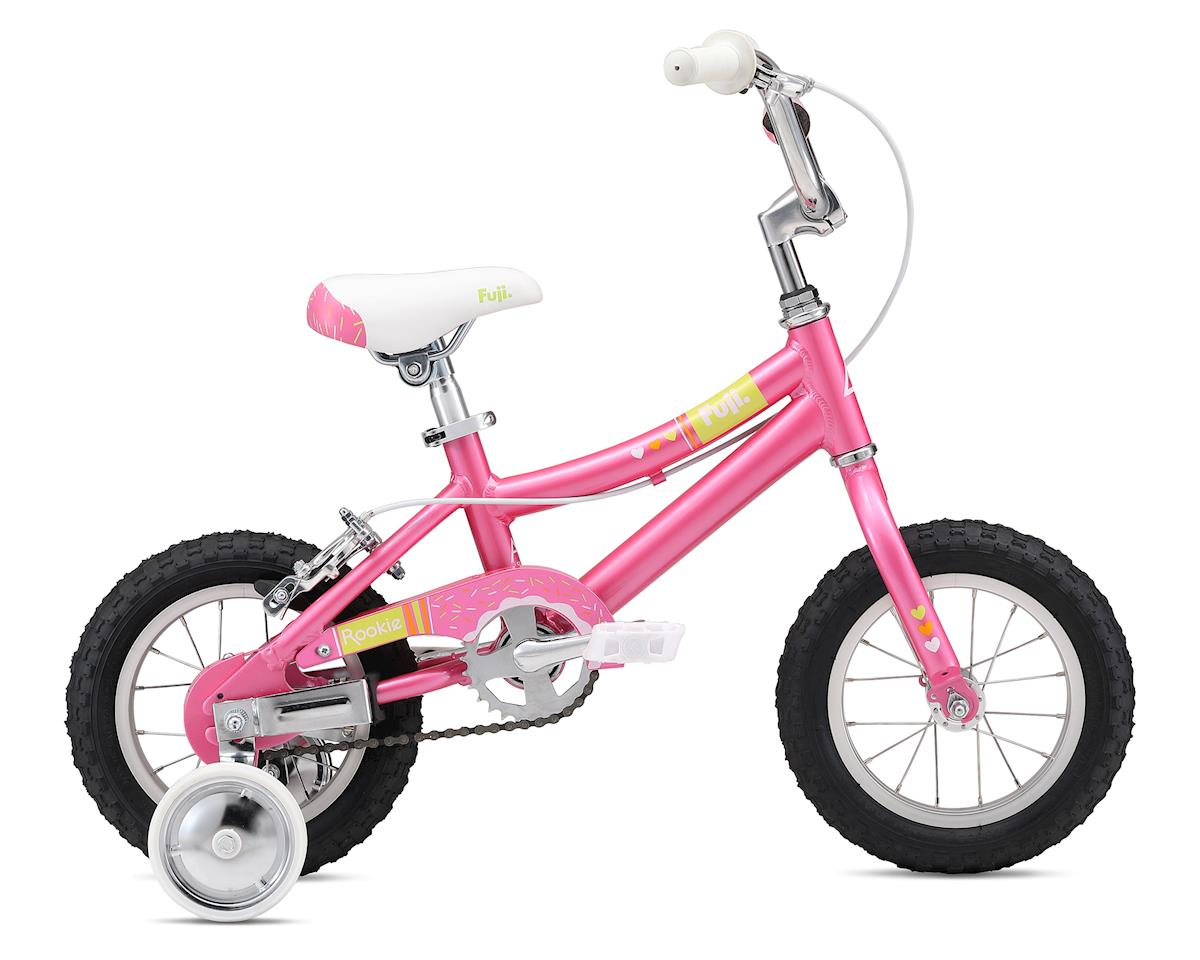 "Fuji Bikes Rookie 12"" Girl's Bike (Bright Rose Pink)"