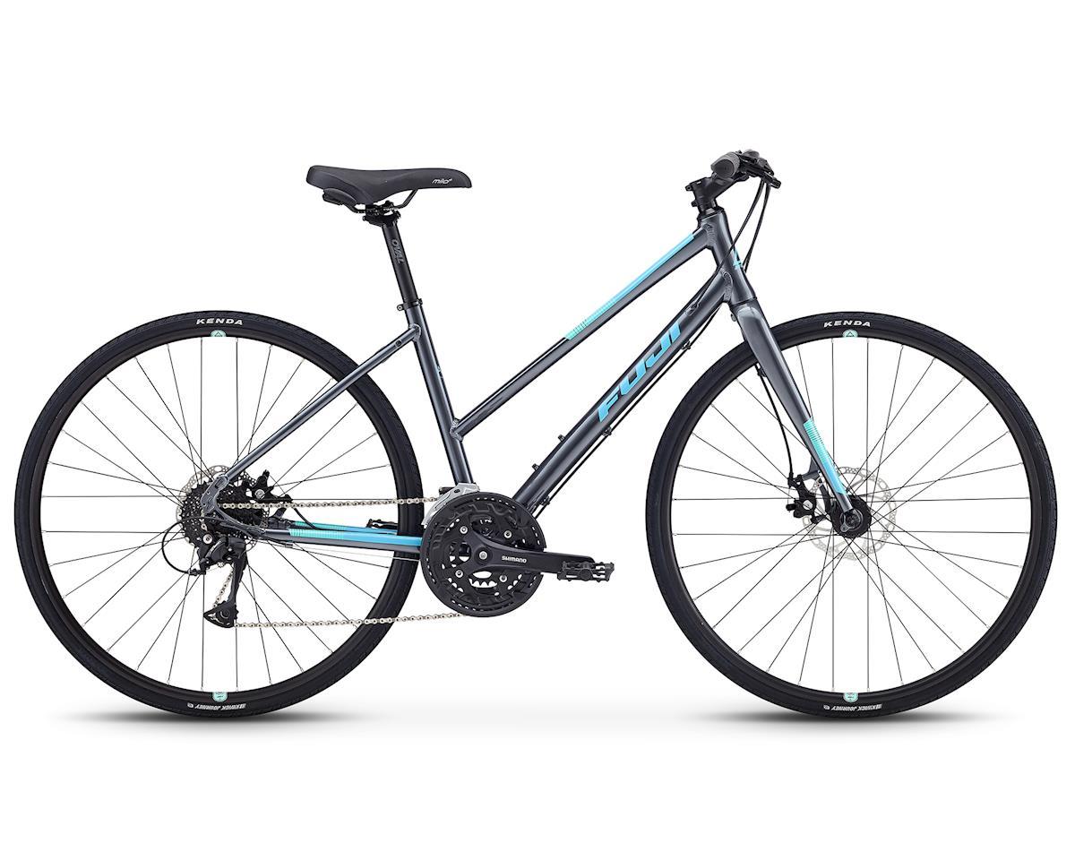 Fuji Bikes 2019 Absolute 1.7 ST Women's Flat Bar Road Bike (Dark Gray) (M)