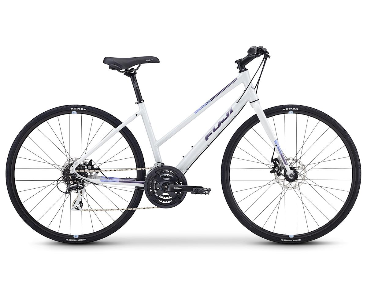 "Fuji Bikes 2019 Absolute 1.9 ST Flat Bar Road Bike (Light Gray) (15"")"