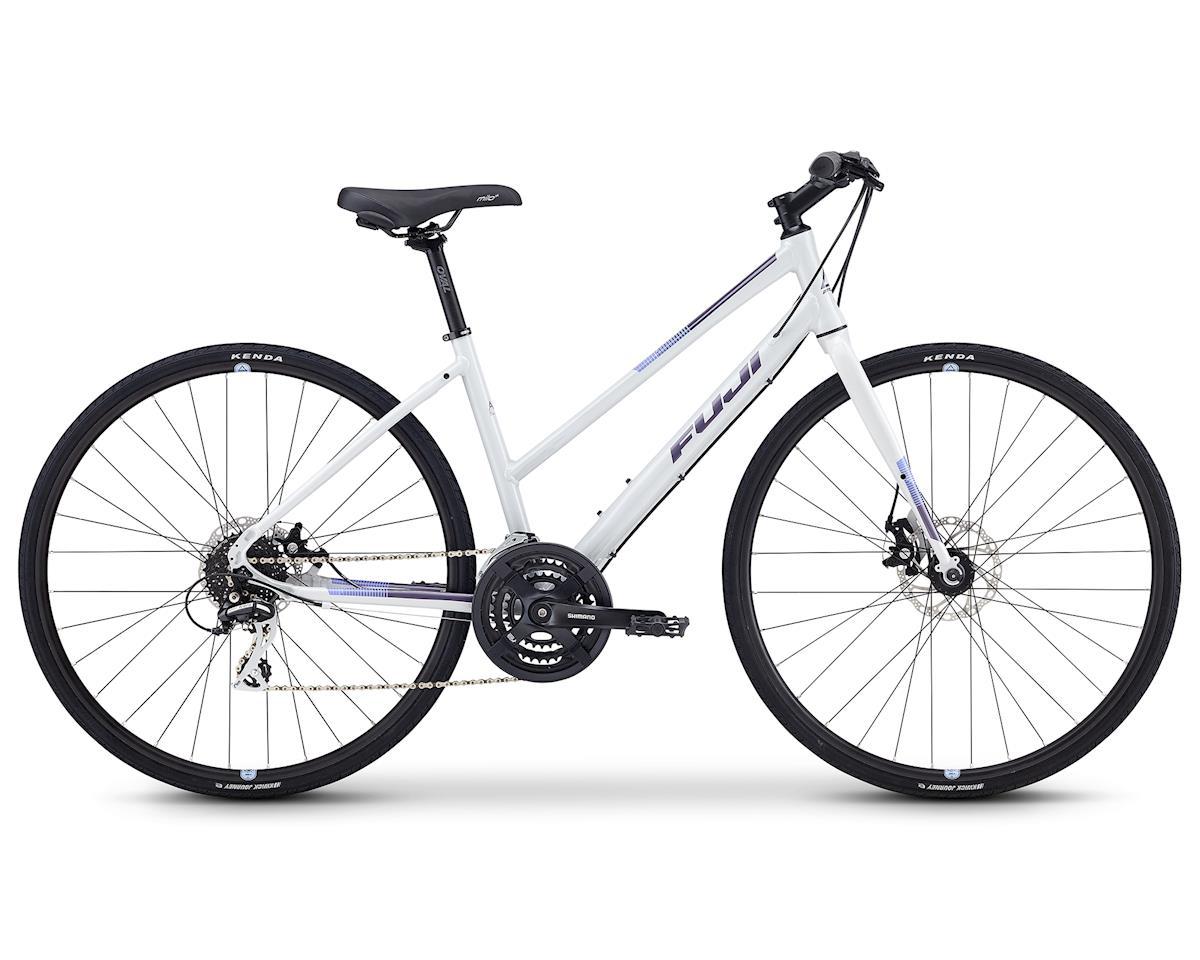 """Fuji Bikes 2019 Absolute 1.9 ST Flat Bar Road Bike (Light Gray) (15"""")"""