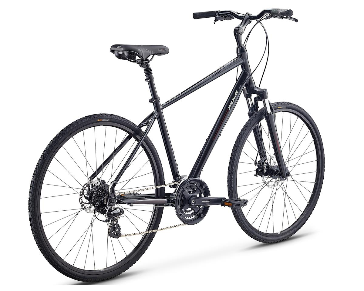 Fuji Bikes Crosstown 1.3 Women's Cruiser Bike (Black) (M)