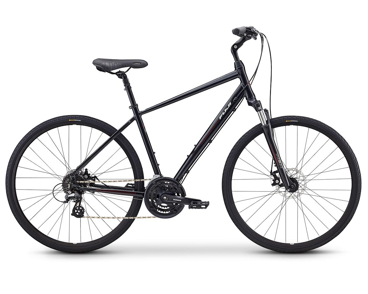 Fuji Bikes Crosstown 1.3 Women's Cruiser Bike (Black)