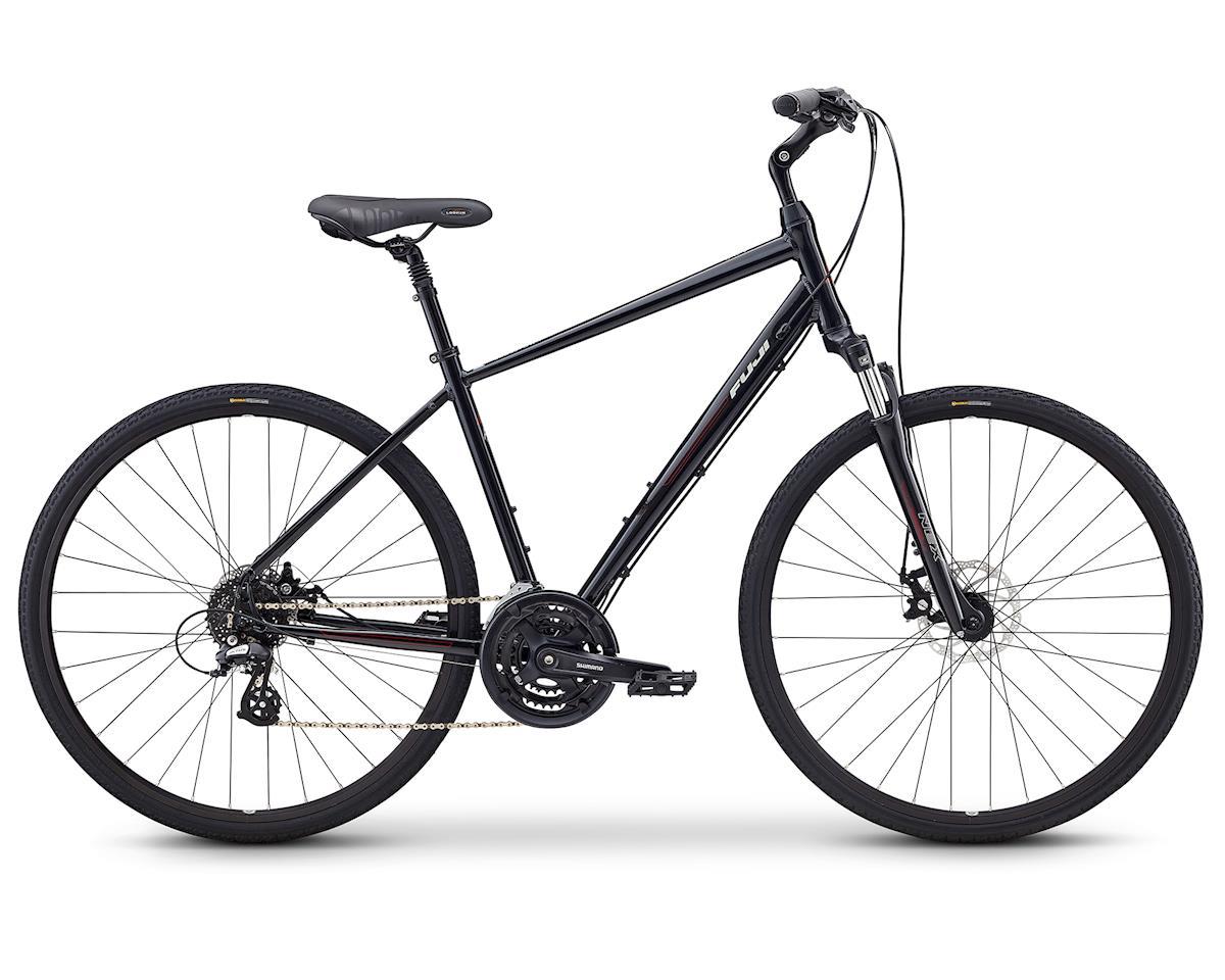Fuji Bikes Crosstown 1.3 Women's Cruiser Bike (Black) (XL)