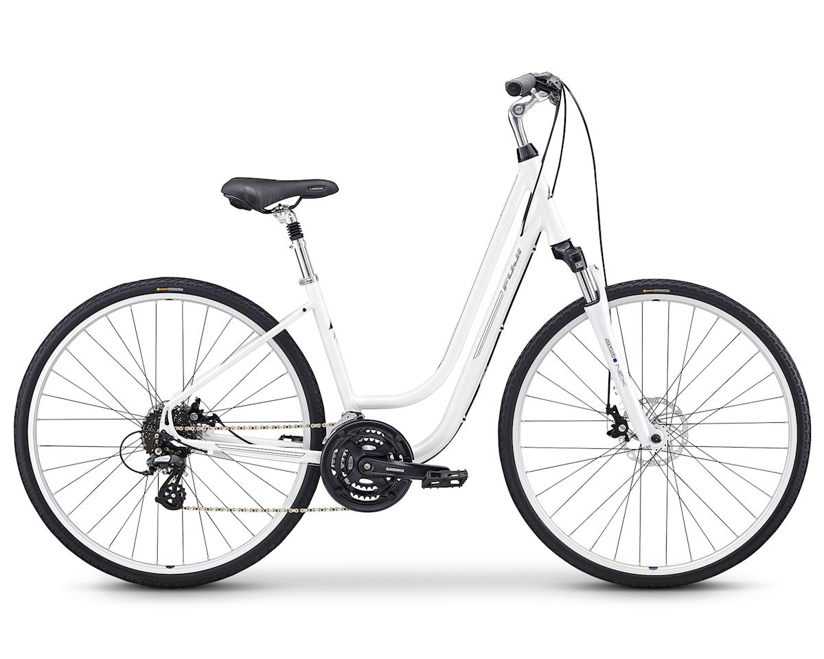 Fuji Bikes Crosstown 1.3 Women's Cruiser Bike (Pearl White)