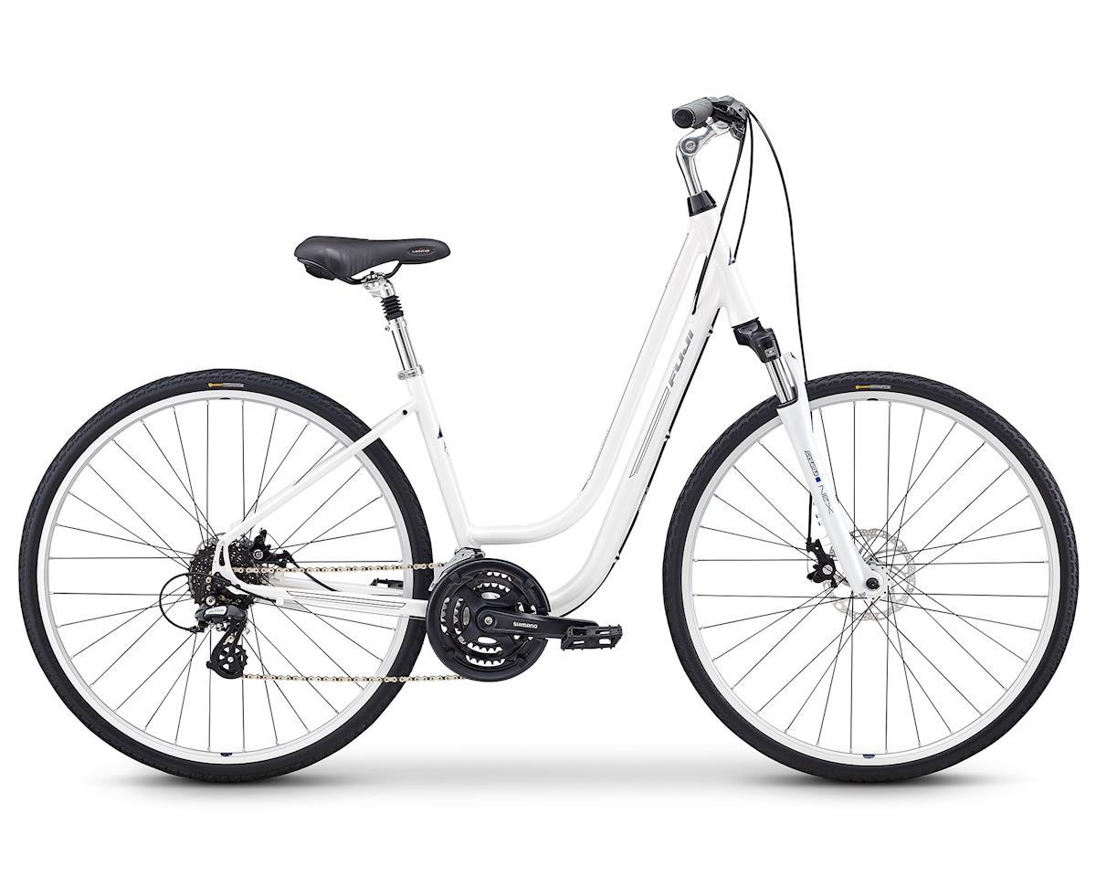 Fuji Bikes Crosstown 1.3 Women's Cruiser Bike (Pearl White) (M)