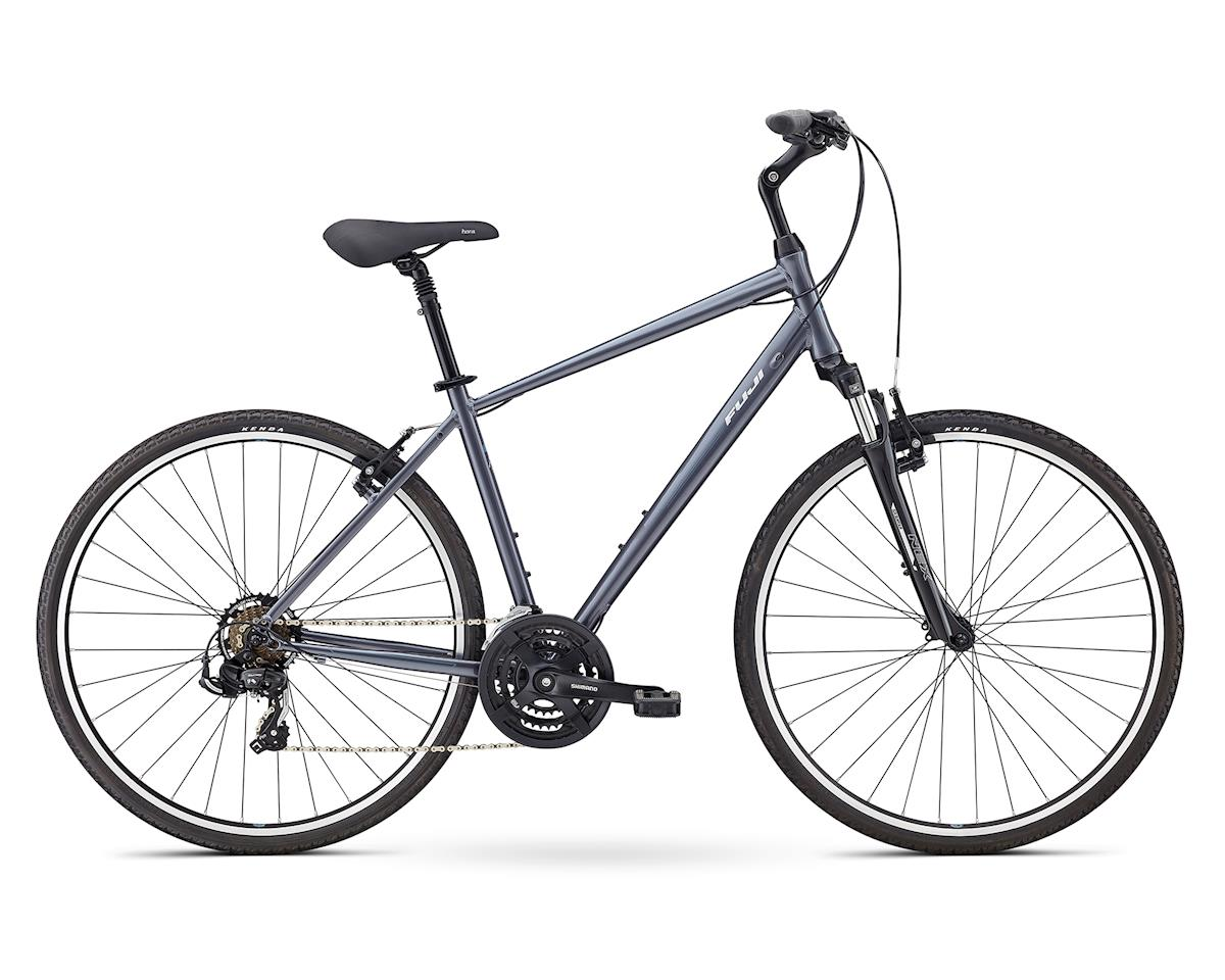 Fuji Bikes Crosstown 2.1 Women's Hybrid Bike (Charcoal)